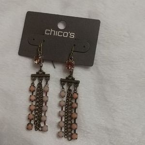 NWT CHICO'S Dangly Earrings